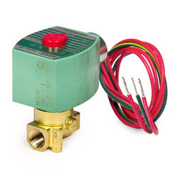 "1/4"" Normally Closed Solenoid Valve, .73 CV (120v) Product Image"
