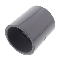 """1/4"""" CPVC Schedule 80 Coupling (Socket) Product Image"""