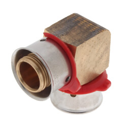 "5/8"" PEX Press Elbow w/ Attached Sleeve"