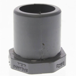 "3/4"" x 1/2"" CPVC Schedule 80 Flush Style Reducer Bushing (Spigot x Socket) Product Image"