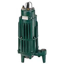 Model I840, Shark Reversing Single Phase Grinder Pump (200V, 2 HP) Product Image