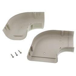"""3.5"""" 90° Flat Elbow - LK92I (Ivory) Product Image"""