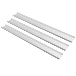 "4.5"" White Wall Duct Kit - LDK122W (12 Ft Kit) Product Image"