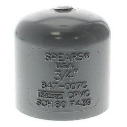 "3/4"" CPVC Schedule 80 Cap (Socket) Product Image"