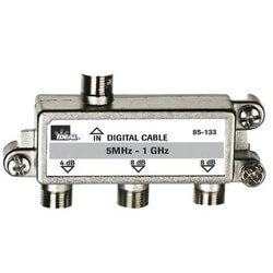 High Performance 3-Way Cable Splitter (5MHz-1GHz) Product Image