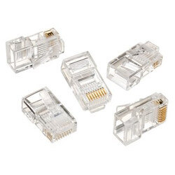 8-Position 8-Contact RJ-45 CAT 5e Modular Plug<br>(Box of 25) Product Image