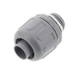 """1/2"""" Straight Non-Metallic Connector Product Image"""