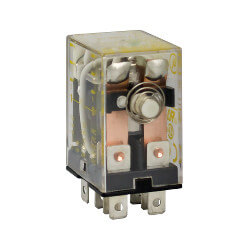 Mini Plug In Power Relay, 2PDT (120/240V) Product Image