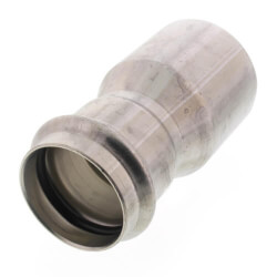 "2-1/2"" x 2"" ProPress 304 SS Reducer w/ FKM<br>(FTG x P) Product Image"