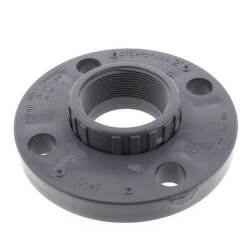 "1/2"" CPVC Schedule 80 Van Stone Flange w/ Plastic Ring (FIPT) Product Image"