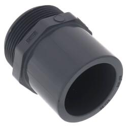 "1/2"" CPVC Schedule 80 Male Adapter<br>(Spigot x MIPT) Product Image"
