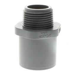 "1"" x 3/4"" CPVC Schedule 80 Male Adapter (Spigot x MIPT) Product Image"