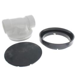 "3"" PVC ProCheck Backwater Valve w/ 16"" Shallow Access Sleeve Kit Product Image"