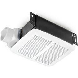 """Model 8832WH Ventilation Fan w/ White Plastic Grille, 3"""" Duct (80 CFM)"""
