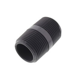 "1"" x 2"" PVC Sch 80 Threaded Nipple Product Image"