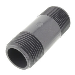 "1"" x 3"" PVC Sch 80 Threaded Nipple Product Image"