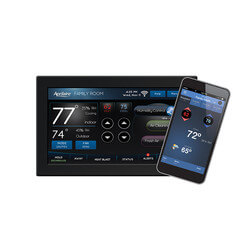 Programmable 2H/2C or 4H/2C Heat Pump Tstat (Color Touch Screen, WiFi) Product Image