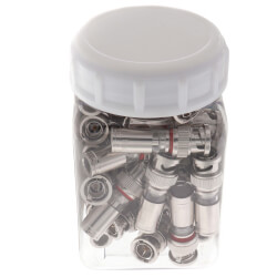 BNC RG-59 InSITE Compression Connectors (Jar of 35) Product Image