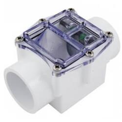 "2"" White Corrosion Resistant Check Valve, Hastelloy (Slip) Product Image"