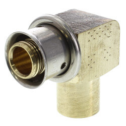 "5/8"" PEX Press x 3/4"" Copper (male) or 1/2"" Copper (female) w/ Attached Sleeve"