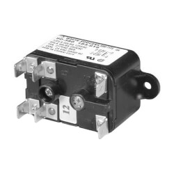 Heavy Duty Enclosed Fan Relay, 277 VAC Coil, 50/60 Hz, SPNO/SPNC. Coil Data: 10300 Ohms DC Resistance, 10.8 mA (Nominal)