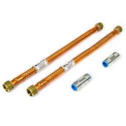 "3/4"" x 15"" Flexible Water Connectors (sold in pairs) Product Image"