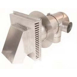 "3"" x 4"" Adjustable Concentric Termination (5.0""-10.0"" Wall Thickness)"