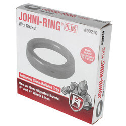 """Johni-Ring Wax Toilet Gasket - Standard Size<br>(for 3"""" or 4"""" Waste Lines) Product Image"""