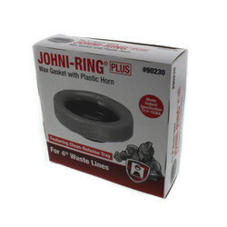 "Johni-Ring Wax Toilet Gasket - Standard Size<br>(for 4"" Waste Lines) Product Image"