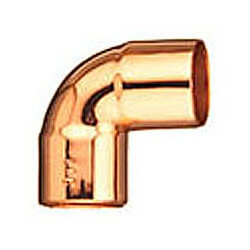 "3/8"" OD Copper 90° Elbow For Air Conditioning Product Image"