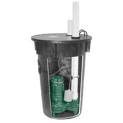 """Model 912(BN264) PA Simplex Sewage System,<br>2"""" Vent (115V, 2/5 HP) Product Image"""
