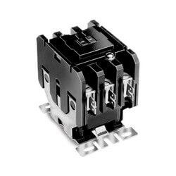 3 Pole Contactors High Amp, 24V Coil, 60 Amp FLA, 75 Amp Resistive