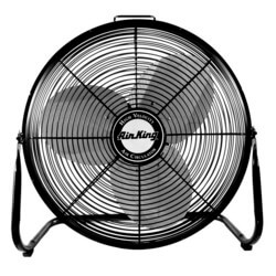 "9212 - 12"" 3 Speed<br>Pivoting Floor Fan<br>(1360 CFM) Product Image"