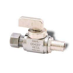 "1/2"" PEX Press Straight Stop Valve (Lead Free)"