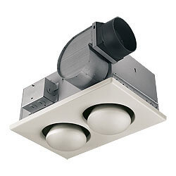 9427P Double 250W Bulb Heater w/ 70 CFM Exhaust Fan (Type IC) Product Image