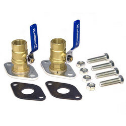 "3/4"" GF 15/26 Bronze Dielectric Isolation Valve Pair (NPT)"
