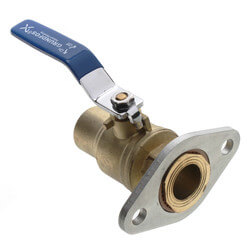 "1"" GF 15/26 Bronze Dielectric Isolation Valve Pair (Threaded) Product Image"