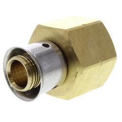 "1/2"" PEX Press LAV Adapter, Metal Nut (Lead Free Bronze)"
