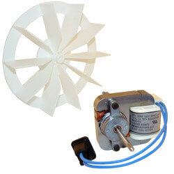 Motor & Blower Wheel for Models 663A-E and 688A-E Product Image