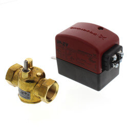 "3/4"" NPT UP-ZV 2-Way, Normally Closed Zone Valve w/ End Switch Product Image"