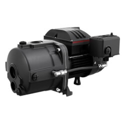 JP4-47ASA Shallow Well Jet Pump, Cast Iron (115/230V, 1/2 HP)