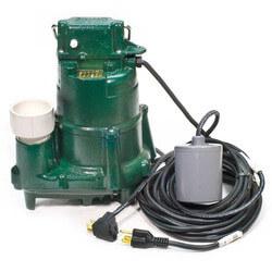 BN98 1/2 HP, 115V Flow Mate Auto Cast Iron Effluent Sump Pump Product Image