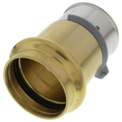 "No Lead 1-1/2"" PEX Press x 1-1/2"" ProPress Adapter<br>w/ Sleeve Product Image"