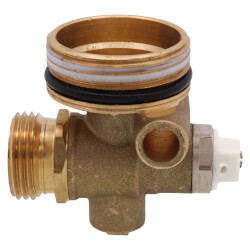 TruFLOW Manifold End Cap with Vent & Drain