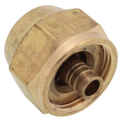 "3/8"" QS-style Fitting Assembly, R20 thread"