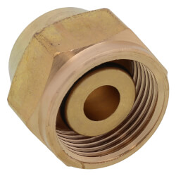 "1/2"" QS-style Fitting Assembly, R20 thread"