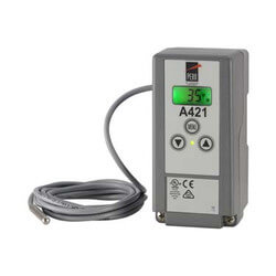 Single Stage Digital Temp Control w/ 19-1/2' Leads (120/240V SPDT) Product Image
