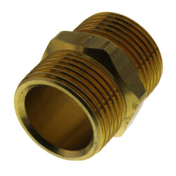 """Coupling Nipple R25 x R25<br>(for 3/4"""" tubing only) Product Image"""