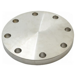 """1/2"""" Stainless Steel<br>ANSI RF Blind Flange Product Image"""