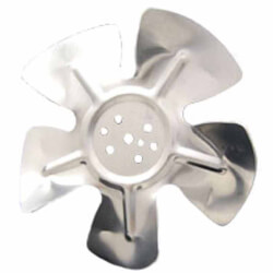 "7"" Aluminum 5 Blade CW Hubless Fan Blade Product Image"